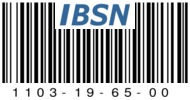 1103-19-65-00 IBSN BARE CODE